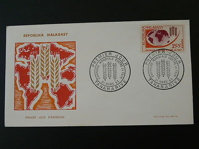 world food programme FAO against hunger FDC Madagascar 50439