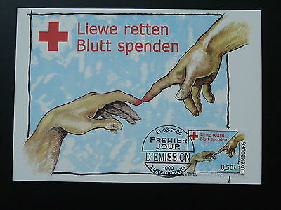 Red Cross maximum card Luxembourg 2006