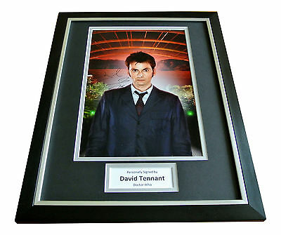DAVID TENNANT SIGNED & FRAMED Autograph Photo Display DOCTOR WHO Memorabilia COA