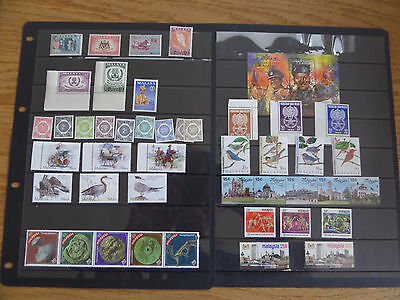 Malaysia Collection - virtually all unmounted mint sets