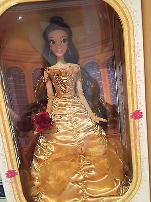 Disney Store Belle Beauty And The Beast Limited Doll