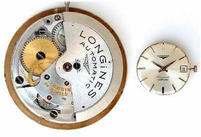 LONGINES CONQUEST automatic 291 original watch movement   working  (4408)