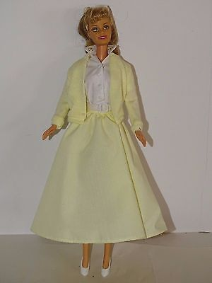 Barbie Collector Barbie as Sandy from Grease #2 Tell Me More Mattel Yellow Dress
