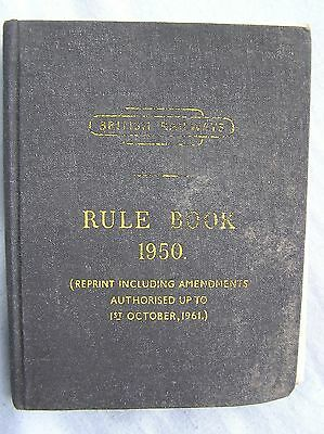 Book - British Railways - Rule Book For Observance By Employees (1950)
