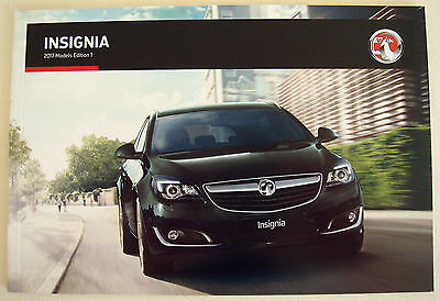 Vauxhall . Insignia . 2017 Models  Edition 1. Sales Brochure