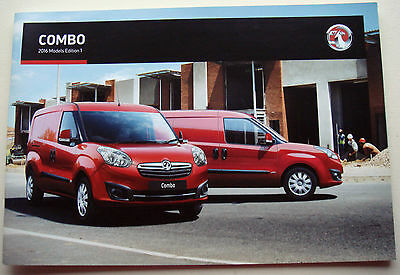 Vauxhall . Combo . 2016 Models Edition 1 . Sales Brochure