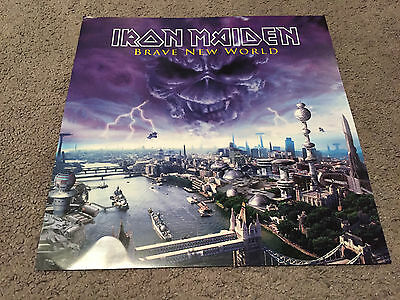 Iron Maiden: Brave New World Promotional Poster 12x12