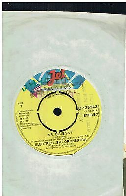 Electric Light Orchestra Mr Blue Sky 45 1977