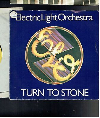 Electric Light Orchestra Turn To Stone Ps 45 1977