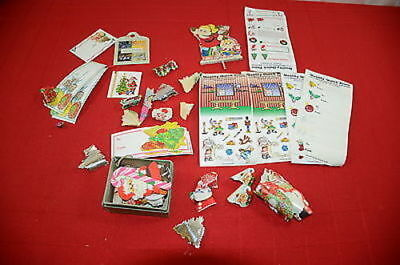 Vintage Christmas Dennison Labels To/From Cards  1388