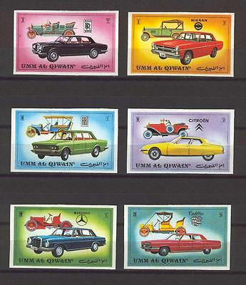 326 Um Al Qiwain 1972 Cars Imperforate MNH