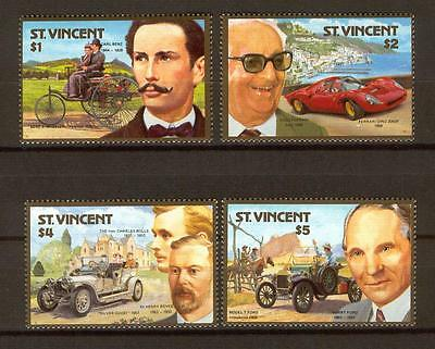 393 St. Vincent Cars MNH