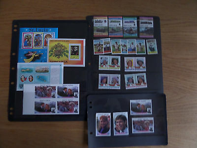 St Lucia Modern unmounted mint collection