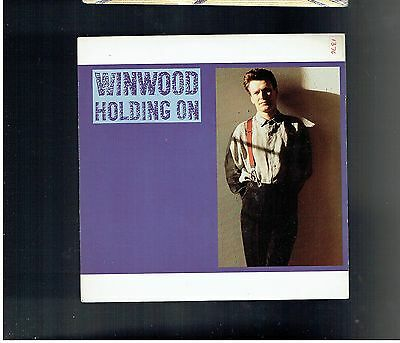 Steve Winwood Holding On Ps 45 1988