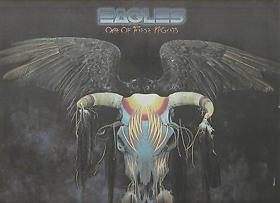 One Of These Nights by The Eagles Original 1975 UK Vinyl LP