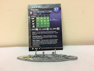 Axis and Allies War at Sea Condition Zebra #5 - Provence