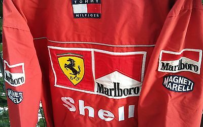 Giacca Ferrari F1 Tommy Hilfigher 2000 Schumacher Issue Team Winter Jacket Shell