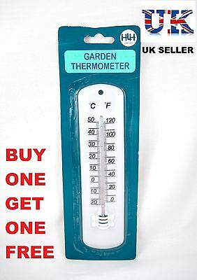 Garden Thermometer Plants Temperature Green House Shed