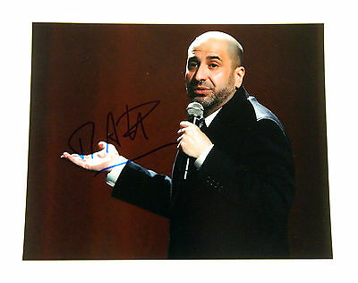 Dave Attell Signed 8x10 Color Photo Pose #1 Auto
