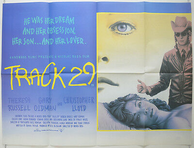TRACK 29 (1988) Original Cinema Quad Film Poster - Theresa Russell, Gary Oldman
