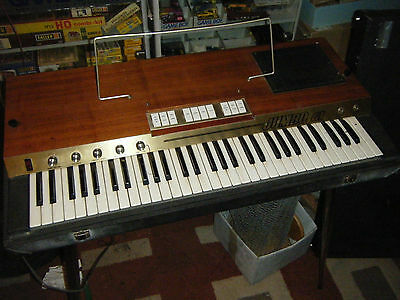 Jumbo 61 GEM 1974 Vintage Orgel Organ perfect condition ultra RARE Doors look