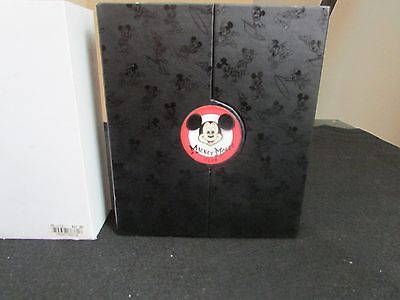 Disney Mickey Mouse Club Watch Box ONLY Pinback Note Book
