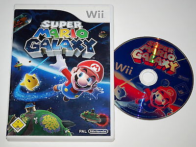 Nintendo Wii Spiel Super Mario Galaxy ~NM7294