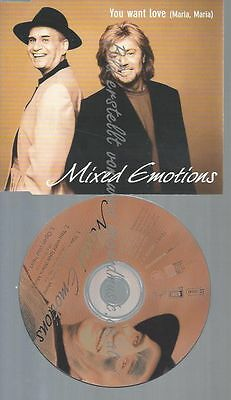 Cd--Mixed Emotions--You Want Love '