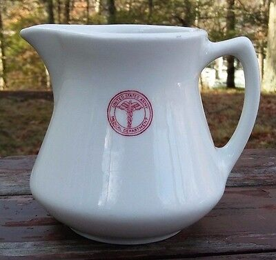 Sterling China - U.s. Army Medical Department Pitcher