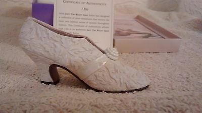 "Collectible Miniature Shoe ""Just the Right Shoe"" by Raine - I Do (Boxed)"