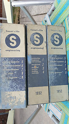 Sweet's 3  ENGINEERING l Catalog File 1950,1952,1952