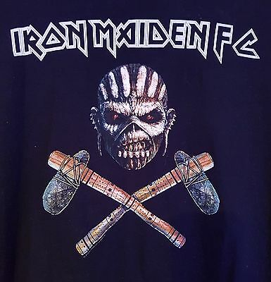 Official Iron Maiden Fc Fan Club T-Shirt Book Of Souls Size Xl Exclusive Design