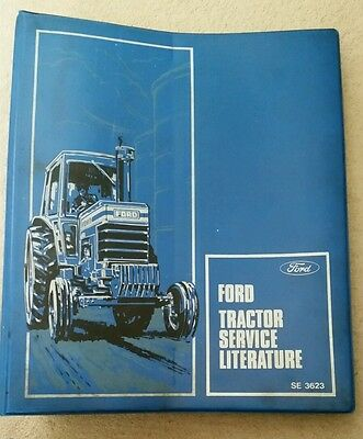 Ford New Holland Tractor Service Bulletin Folder