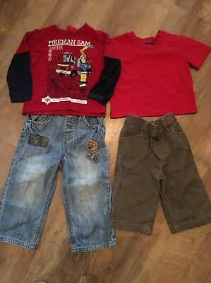 Boys Small Clothing Bundle Age 18-24 Months