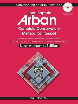 Arban Complete Conservatory Method For Trumpet - Spiralbound -  Bk/cd O21Xsb New