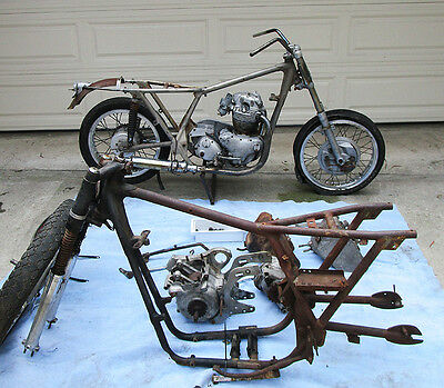 1967 Norton  1967 NORTON 750 P11 MOTORCYCLE PROJECTS DESERT SLED HYBRID FOR RESTORATION/PARTS
