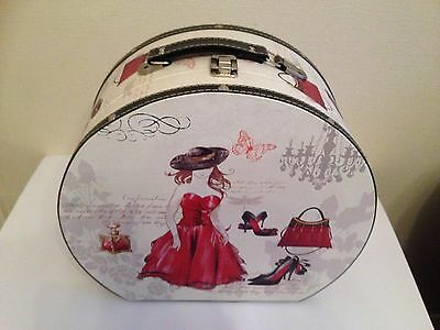 Ladies Luggage Vanity Carry Travel Case Cosmetic Case Box Deco Design New Gifts