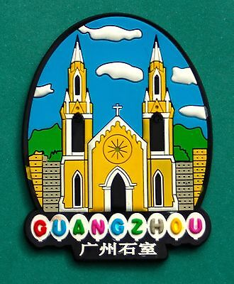 Souvenir Fridge Magnet Guangzhou Sacred Heart Cathedral China