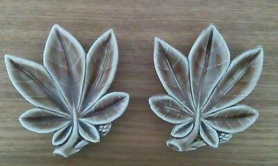 2 Wade Leaf Pin Tray's  (Excellent condition)