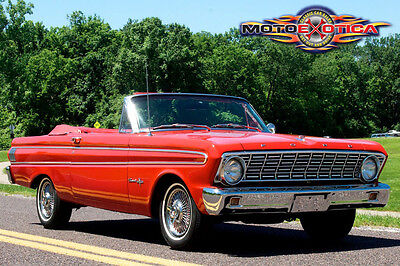 1964 Ford Falcon Sprint 1964 Ford Falcon Sprint V8 Convertible, Power Top, Power Steering, 260 V8, RED!
