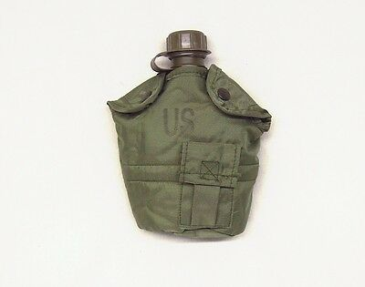 USA made military issue 1 quart canten cover olive drab green ALICE attach new