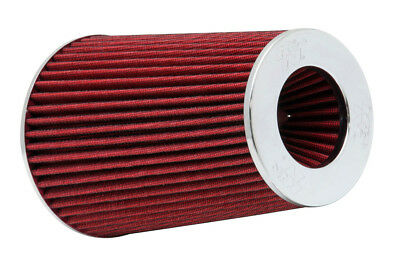 "RG-1002RD K&N Universal Chrome Air Filter 6""OD B X 9-1/2""H W/4"", 3-1/2"", 3""DIA F"