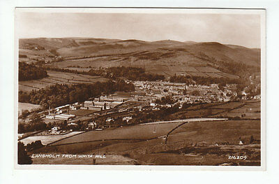 Langholm From Whita Hill Dumfriesshire 1932 Real Photograph Valentines 216209