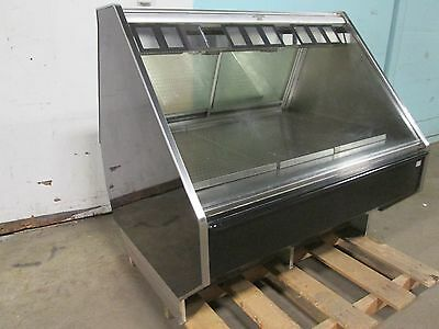 """barker Co"" Commercial Heated Lighted Full-Service Hot Food/chicken Merchandiser"