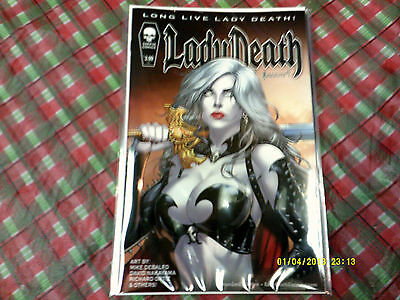 Coffin Comics Lady Death #1 Near Mint And First Print!!!