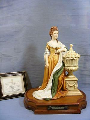 RARE LARGE ROYAL WORCESTER FIGURE QUEEN MARY 11 VAN RUYCKEVELT Ltd of 250  1975