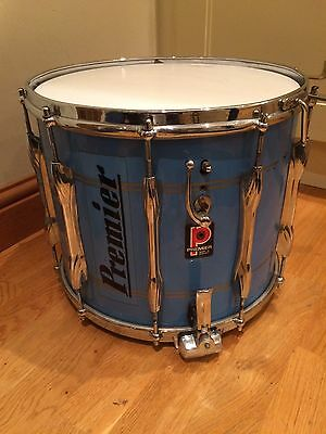 Vintage Premier Marching Snare Drum Perfect For Marching Bands Football Rugby