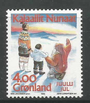 GREENLAND. 1992. Christmas Commemorative SG: 124. Mint Never Hinged.