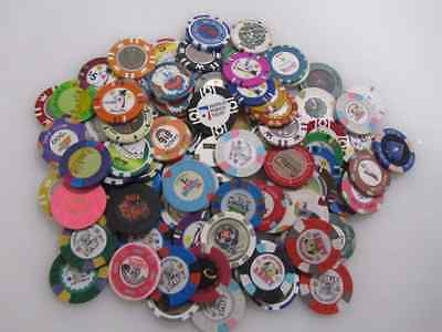 88 Casino Gaming Poker Chip Lot INVENTORY CLEARANCE Las Vegas $1 New & Used