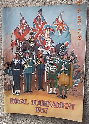 The Royal Tournament Programme At The Earls Court Exhibition Building - 1957